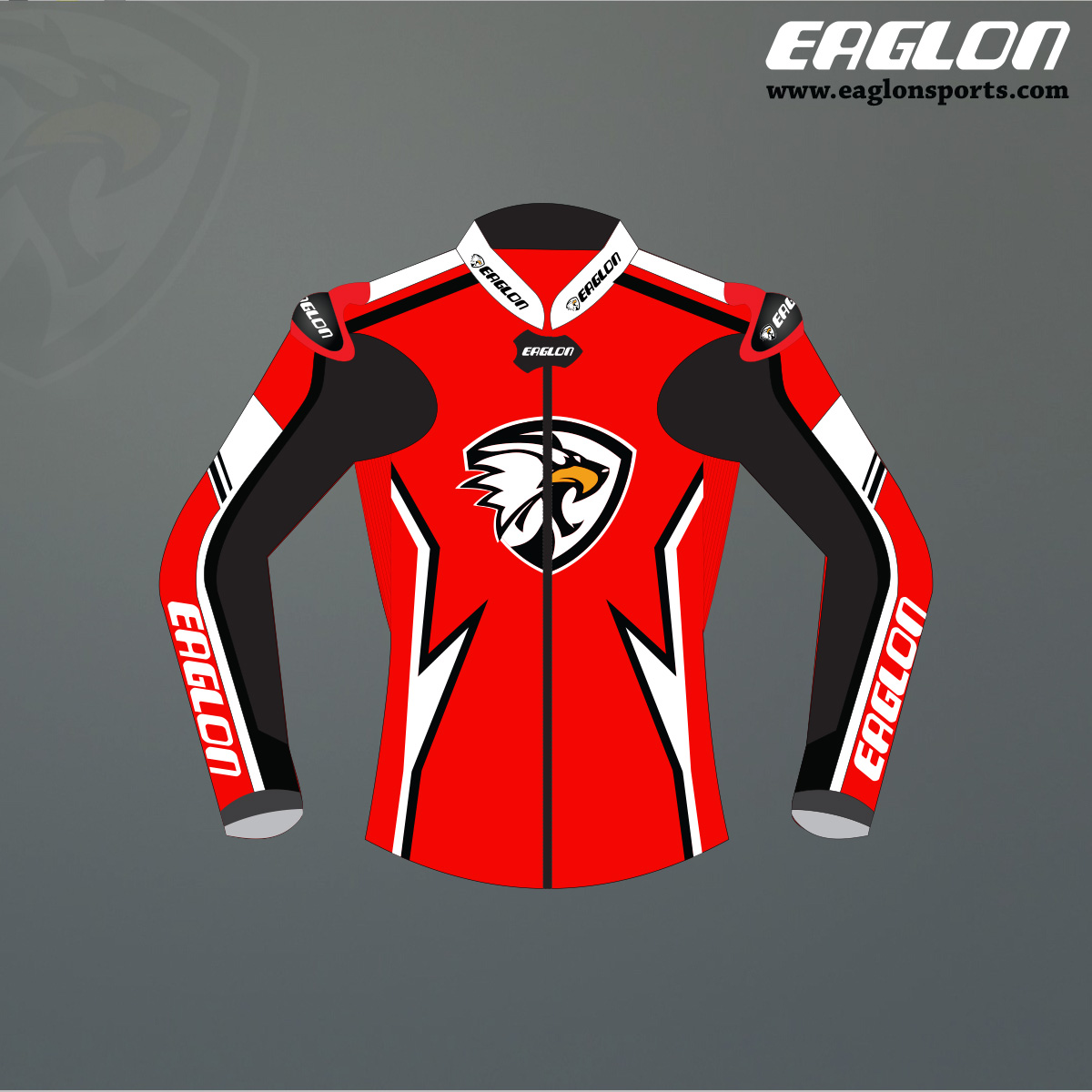 Detrox Leather Race Jacket Eaglon Sports Specially Designed Outfit