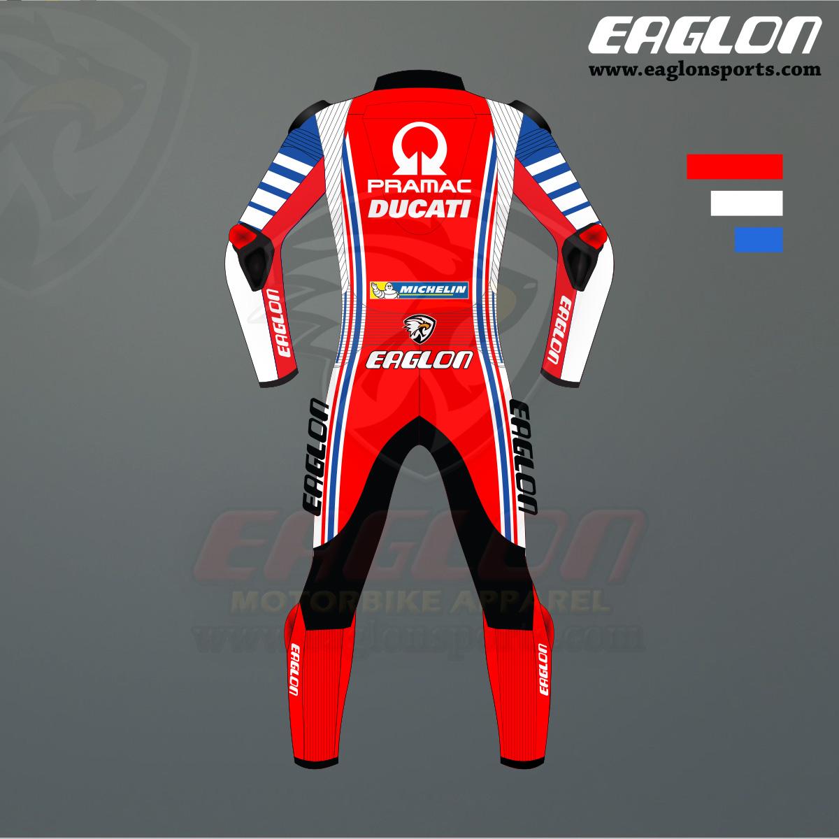 Francesco Bagnaia 2020 Ducati MotoGP Riding Suit - Eaglon Sports